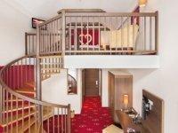 Galerie-Suite 60 m², Quelle: (c) Romantik & Spa Alpen-Herz