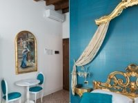 "Golden Venice ""Blue"" – ""Deluxe"" zimmer, Quelle: (c) Villa Gasparini"