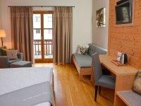 Hahnenkamm Zimmer, Quelle: (c) Q! Resort Health & Spa Kitzbühel