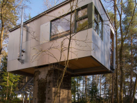 Haus am Fundament, Quelle: (c) Baumhaus Lodge Schrems