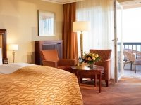 Juniorsuite mit direktem Meerblick, Quelle: (c) Hotel Gran Belveder am Timmendorfer Strand