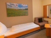 Kleines Einzelzimmer XS, Quelle: (c) Gasthaus & Hotel Drei Lilien