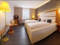 Komfort-Doppelzimmer, Quelle: (c) Amedia Hotel Zwickau