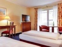 Komfort-Doppelzimmer, Quelle: (c) Marc Aurel Hotel GmbH &Co.KG
