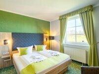 Komfort-Doppelzimmer, Quelle: (c) Panorama Berghotel Wettiner Höhe