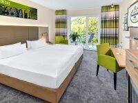 Komfort Doppelzimmer mit Balkon, Quelle: (c) Ringhotel Zweibrücker Hof