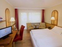 Komfort-Doppelzimmer mit Balkon (Nordseite), Quelle: (c) AKZENT Hotel Berlin