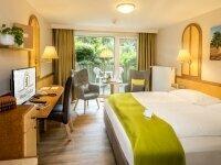 Komfort-Doppelzimmer mit Terrasse (Südseite), Quelle: (c) AKZENT Hotel Berlin