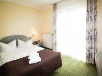 Komfort Doppelzimmer (Stadtblick), Quelle: (c) Wellness-Hotel Residenz
