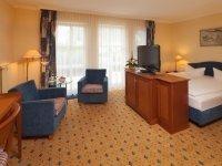Komfort Doppelzimmer zur Einzelnutzung, Quelle: (c) Balmer See Hotel · Golf · Spa