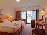 Comfort Doppelzimmer mit Bergblick, Quelle: (c) AMBER Hotel Bavaria