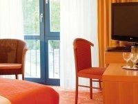 Komfort-Einzelzimmer, Quelle: (c) Vital Hotel Das Thermenhotel