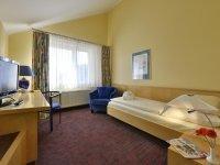 Komfort Einzelzimmer, Quelle: (c) Michel & Friends Hotel Lüneburger Heide
