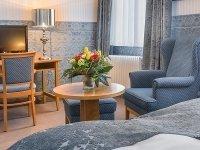 Komfort-Einzelzimmer, Quelle: (c) Hotel Brusttuch