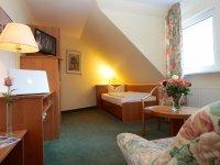 Komfort-Einzelzimmer, Quelle: (c) Akzent Hotel Zur grünen Eiche