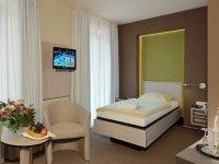 Komfort-Einzelzimmer, Quelle: (c) AKZENT Hotel Haus Surendorff