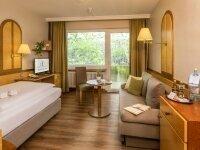 Komfort-Einzelzimmer mit Balkon (Nordseite), Quelle: (c) AKZENT Hotel Berlin
