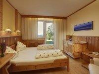 """Komfortzimmer """"Panoramablick"""" , Quelle: (c) Biolandhaus Arche"""