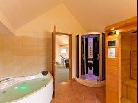 Maisonette-Suite mit Whirlpool und Sauna, Quelle: (c) Hotel Kloster Nimbschen