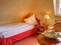 Mansarden Zimmer im Schloss, Quelle: (c) Romantik Hotel Schloss Rheinfels