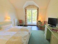 Orangerie Doppelzimmer zur Landseite, Quelle: (c) Schlosshotel Klink