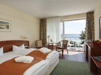 Orangerie Doppelzimmer zur Seeseite, Quelle: (c) Schlosshotel Klink