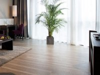 Panoramasuite mit Skylineblick, Quelle: (c) Vital Hotel Frankfurt