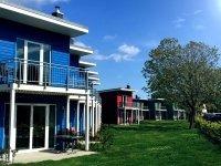 Premiumhaus mit 2 Personen, Quelle: (c) Dampland Urlaub Resort