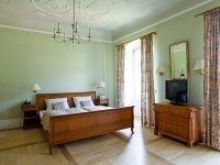 Schloss Doppelzimmer, Quelle: (c) Hotel Schloss Heinsheim