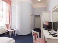 Schloss Doppelzimmer mit Seeblick, Quelle: (c) Schlosshotel Klink