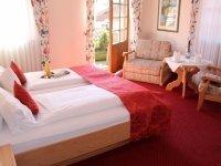 Schlossblick Doppelzimmer, Quelle: (c) Hotel Hanselewirt