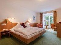 SchlossGeist Doppelzimmer, Quelle: (c) Hotel Restaurant Schloss Döttingen