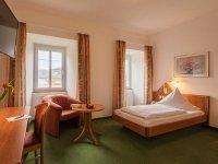 SchlossGEIST Einzelzimmer, Quelle: (c) Hotel Restaurant Schloss Döttingen