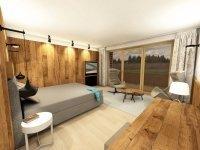 """Single Studio """"Alpin Deluxe"""", Quelle: (c) Hotel Gasthof Hindenburglinde"""