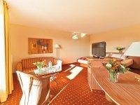 Sleep-Loft Doppelzimmer mit Wasserbett, Quelle: (c) Vitalis Greetsiel
