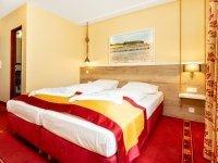 Standard-Doppelzimmer, Quelle: (c) Hotelbetriebsgesellschaft Alter Speicher mbH