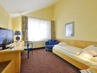 Standard Einzelzimmer, Quelle: (c) Michel & Friends Hotel Lüneburger Heide