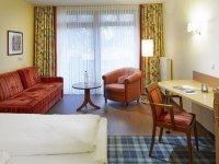 Standard Einzelzimmer zur Landseite, Quelle: (c) Göbel·s Seehotel Diemelsee