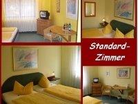 Standard Zimmer, Quelle: (c) Burghotel Witzenhausen