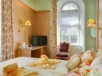 Juniorsuite im Schloss, Quelle: (c) Hotel Schloss Nebra