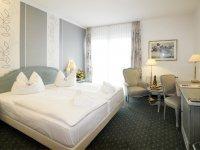 Superior Doppelzimmer (Stadtblick), Quelle: (c) Wellness-Hotel Residenz