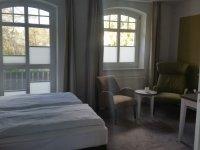 Superior-Doppelzimmer mit Balkon, Quelle: (c) Ringhotel Villa Margarete /Pöhl GmbH