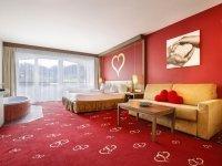 Themen-Zimmer (Herz-, Stern- oder Kuss-Zimmer), Quelle: (c) Romantik & Spa Alpen-Herz