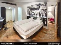 V6 Familienzimmer, Quelle: (c) V8 Hotel MOTORWORLD Region Stuttgart