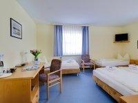 Vierbettzimmer, Quelle: (c) Hotel Zwickau Mosel