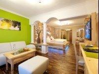 Wohlfühlzimmer Zirbennest, Quelle: (c) Hotel Winzer Wellness & Kuscheln