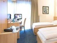 Zweibettzimmer, Quelle: (c) Hotel am Wald