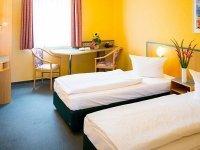 Zweibettzimmer, Quelle: (c) APART-HOTEL WEIMAR
