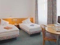 Zweibettzimmer, Quelle: (c) AKZENT Hotel Delitzsch